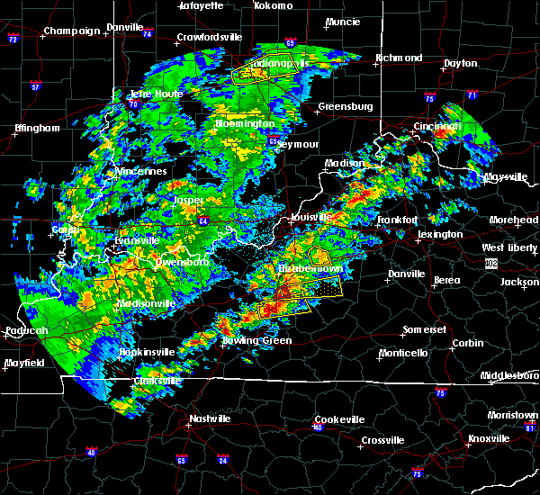 Radar Image for Severe Thunderstorms near Buffalo, KY at 4/3/2018 8:35 PM EDT