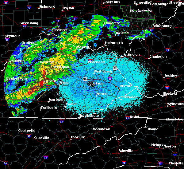 Radar Image for Severe Thunderstorms near Paris, KY at 4/3/2018 9:40 PM EDT
