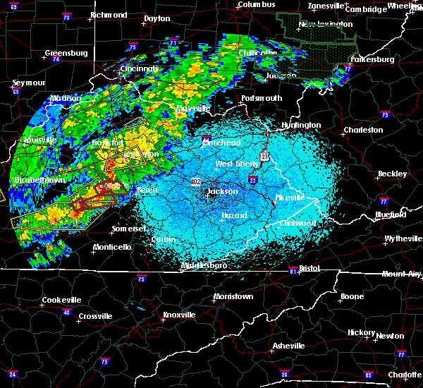 Radar Image for Severe Thunderstorms near Danville, KY at 4/3/2018 9:47 PM EDT