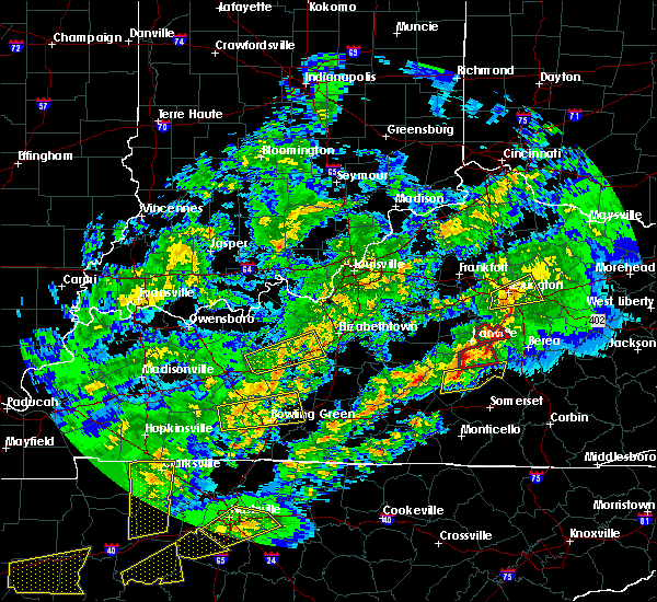 Radar Image for Severe Thunderstorms near Lancaster, KY at 4/3/2018 9:56 PM EDT