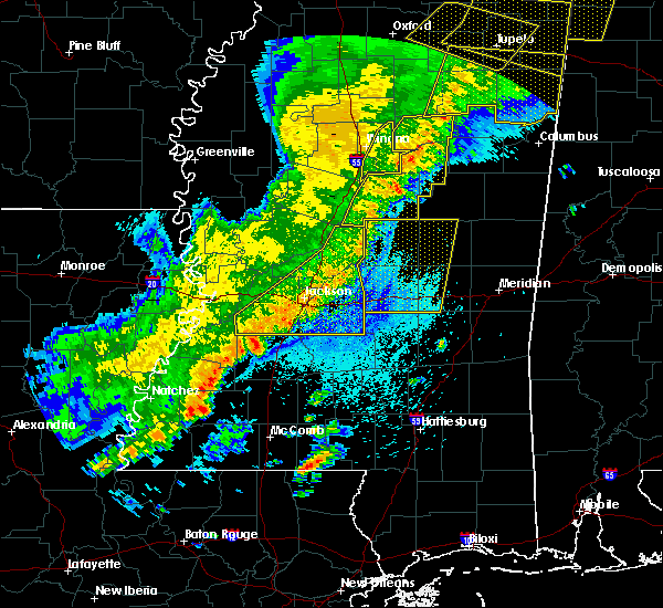 Radar Image for Severe Thunderstorms near Polkville, MS at 4/3/2018 8:56 PM CDT
