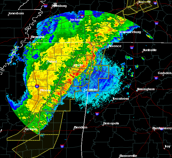 Radar Image for Severe Thunderstorms near Belgreen, AL at 4/3/2018 9:18 PM CDT
