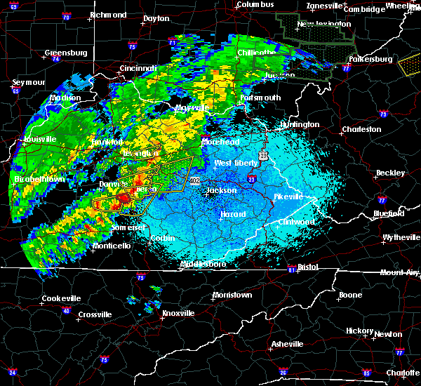 Radar Image for Severe Thunderstorms near Richmond, KY at 4/3/2018 10:19 PM EDT