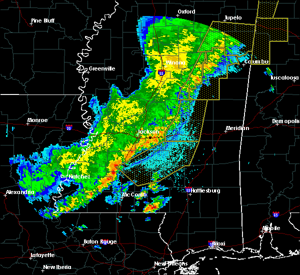 Radar Image for Severe Thunderstorms near Polkville, MS at 4/3/2018 9:19 PM CDT