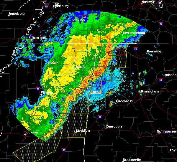 Radar Image for Severe Thunderstorms near Berry, AL at 4/3/2018 9:47 PM CDT