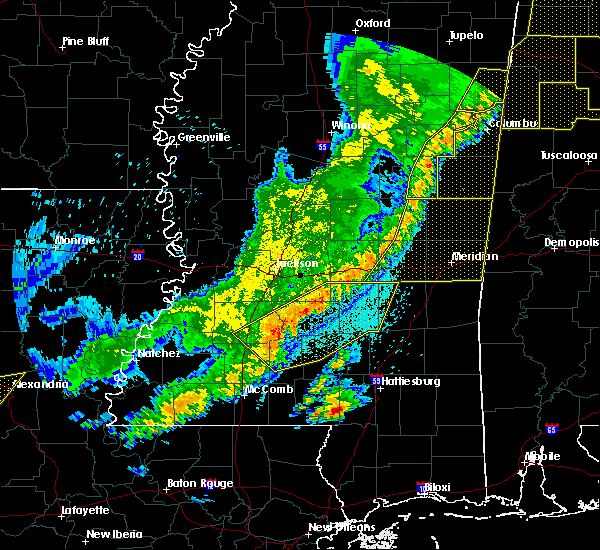 Radar Image for Severe Thunderstorms near Bogue Chitto, MS at 4/3/2018 9:47 PM CDT