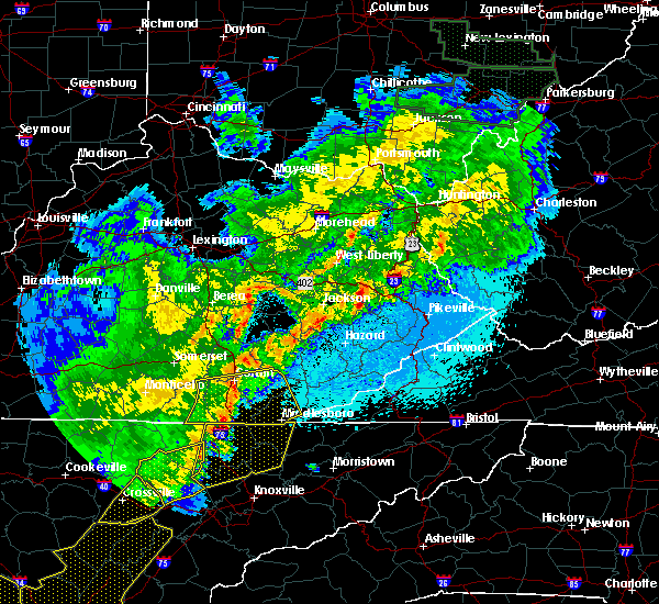 Radar Image for Severe Thunderstorms near London, KY at 4/4/2018 12:33 AM EDT