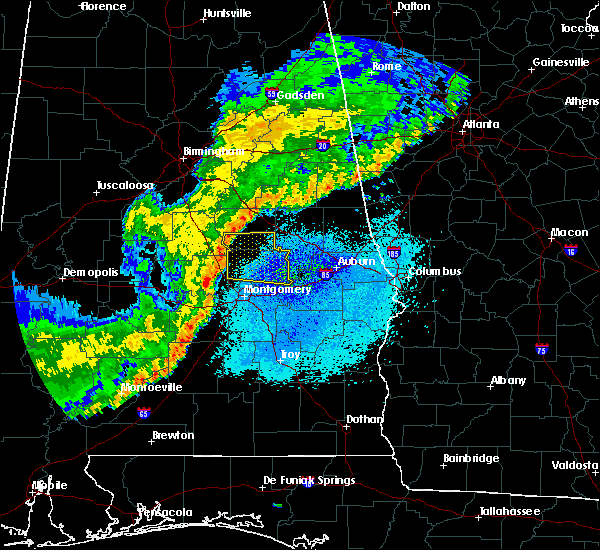 Radar Image for Severe Thunderstorms near Hissop, AL at 4/4/2018 1:37 AM CDT