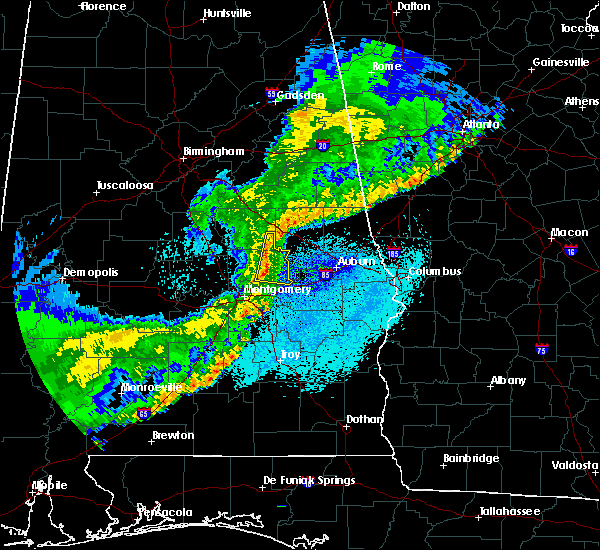 Radar Image for Severe Thunderstorms near Hissop, AL at 4/4/2018 2:13 AM CDT