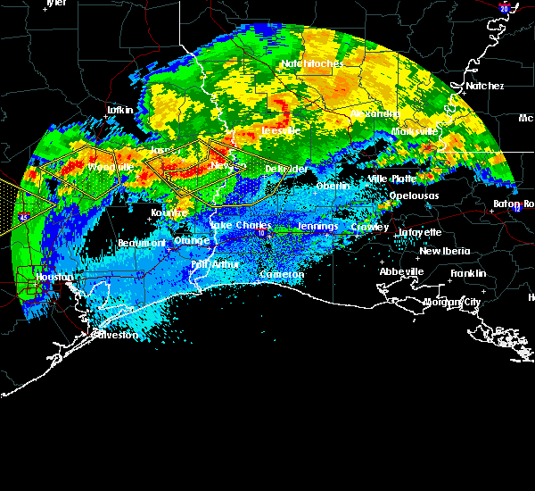 Radar Image for Severe Thunderstorms near Oretta, LA at 4/7/2018 1:10 AM CDT