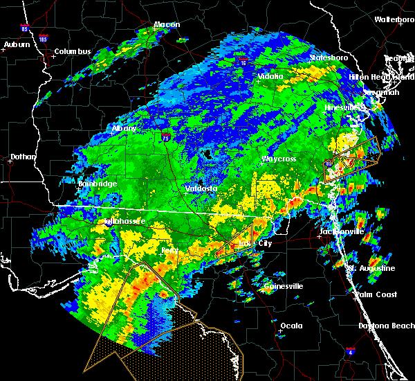 Radar Image for Severe Thunderstorms near Lake City, FL at 4/7/2018 3:12 PM EDT