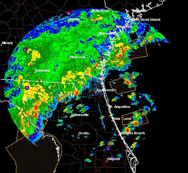Radar Image for Severe Thunderstorms near Lake City, FL at 4/7/2018 3:42 PM EDT