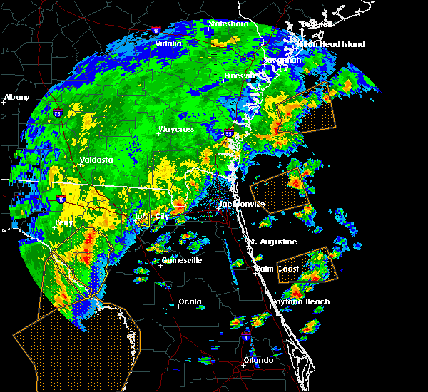 Radar Image for Severe Thunderstorms near Lake City, FL at 4/7/2018 3:48 PM EDT