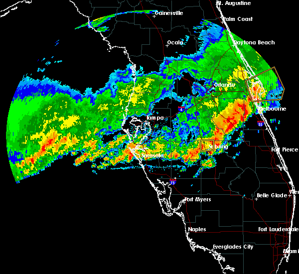 Radar Image for Severe Thunderstorms near Avon Park, FL at 4/10/2018 12:56 PM EDT