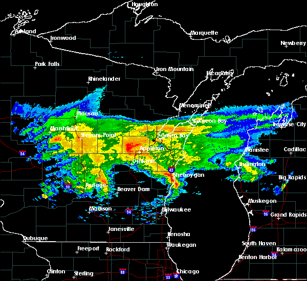 Interactive Hail Maps Hail Map For Oostburg Wi