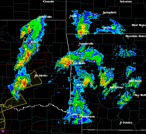 Radar Image for Severe Thunderstorms near Short, OK at 4/13/2018 3:44 PM CDT