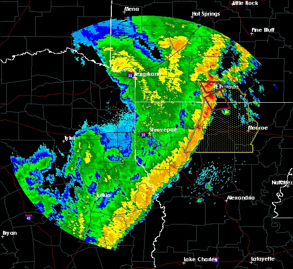 Radar Image for Severe Thunderstorms near Calion, AR at 4/14/2018 1:51 AM CDT