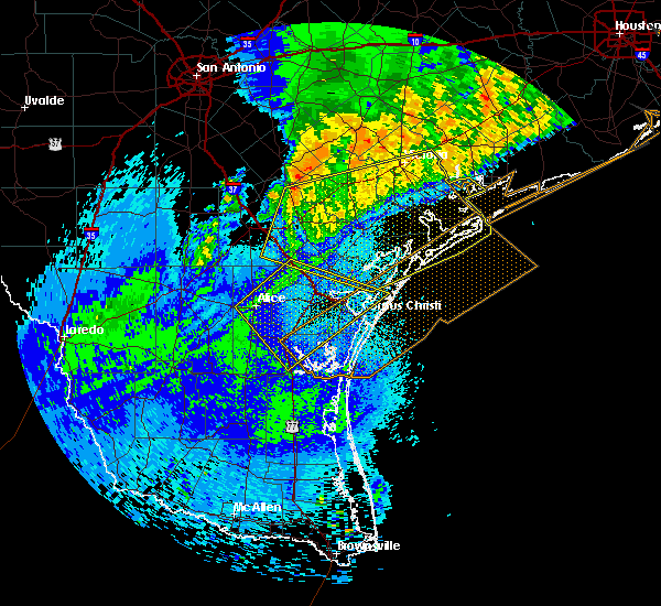 Radar Image for Severe Thunderstorms near Corpus Christi, TX at 4/14/2018 2:03 AM CDT