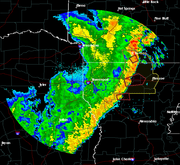 Radar Image for Severe Thunderstorms near Calion, AR at 4/14/2018 2:06 AM CDT
