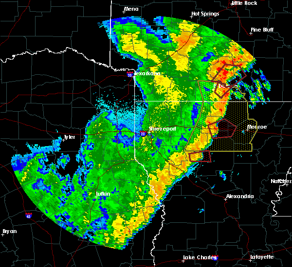 Radar Image for Severe Thunderstorms near Calion, AR at 4/14/2018 2:15 AM CDT
