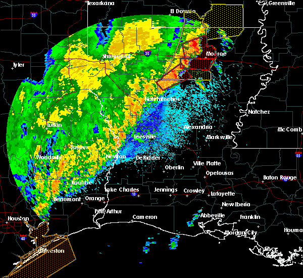 Radar Image for Severe Thunderstorms near Chatham, LA at 4/14/2018 2:46 AM CDT