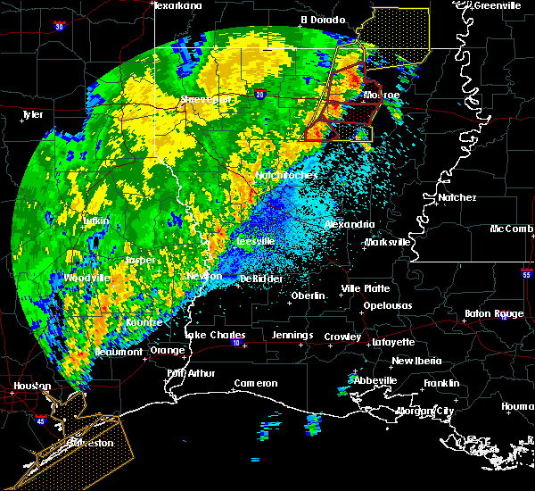 Radar Image for Severe Thunderstorms near Chatham, LA at 4/14/2018 2:55 AM CDT