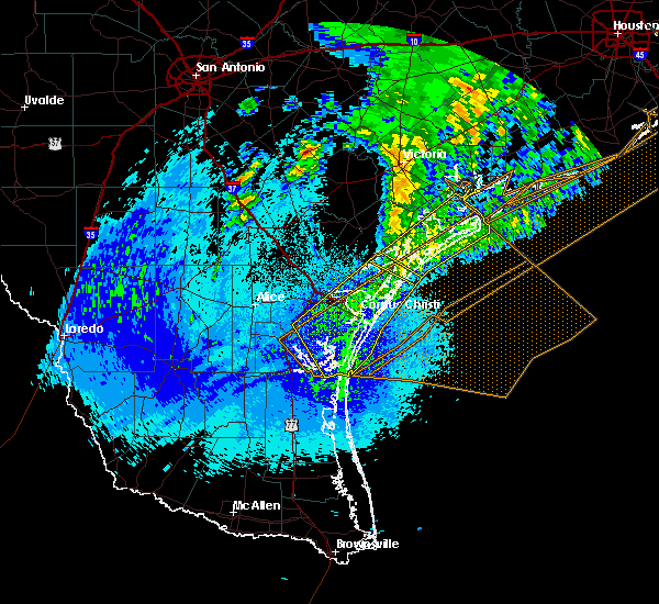 Radar Image for Severe Thunderstorms near Corpus Christi, TX at 4/14/2018 2:56 AM CDT