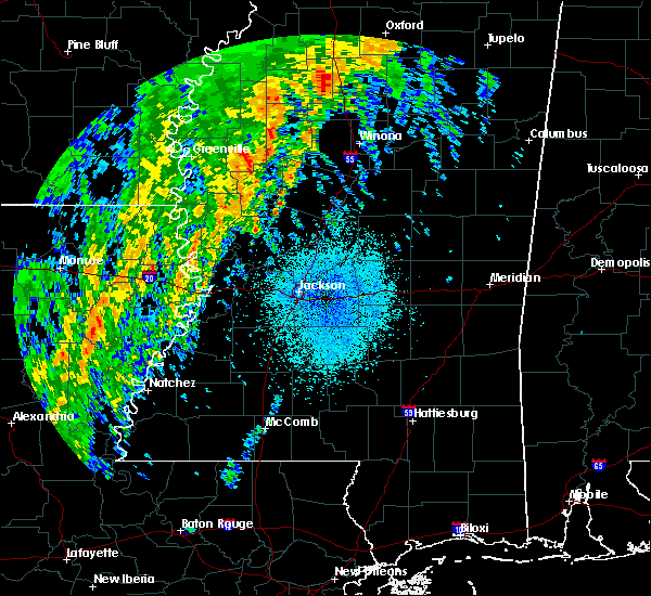 Radar Image for Severe Thunderstorms near Schlater, MS at 4/14/2018 5:04 AM CDT