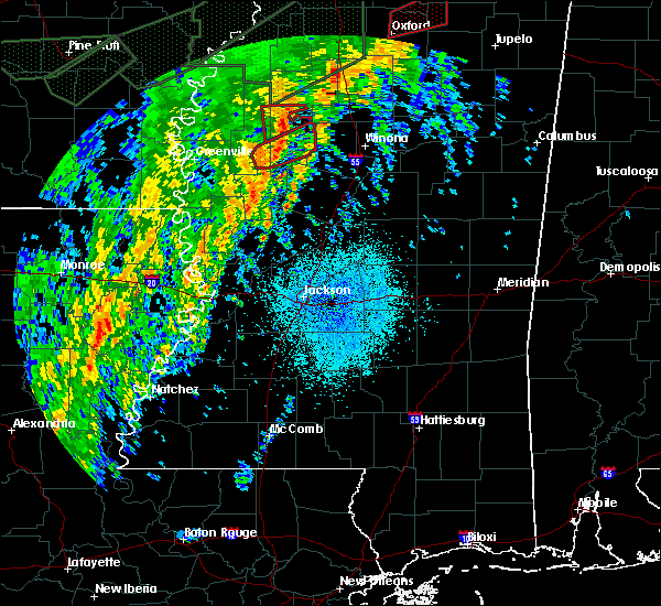 Radar Image for Severe Thunderstorms near Schlater, MS at 4/14/2018 5:10 AM CDT