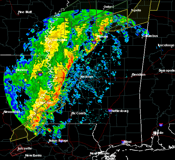 Radar Image for Severe Thunderstorms near Roxie, MS at 4/14/2018 6:47 AM CDT