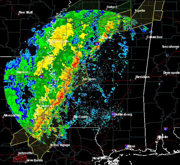 Radar Image for Severe Thunderstorms near Roxie, MS at 4/14/2018 7:00 AM CDT