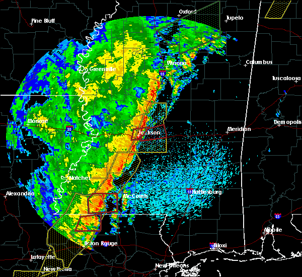 Radar Image for Severe Thunderstorms near Brandon, MS at 4/14/2018 7:52 AM CDT