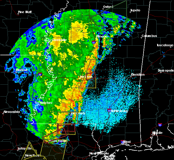 Radar Image for Severe Thunderstorms near Brandon, MS at 4/14/2018 8:13 AM CDT
