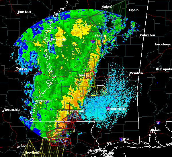 Radar Image for Severe Thunderstorms near Polkville, MS at 4/14/2018 8:32 AM CDT