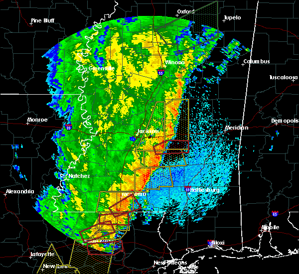 Radar Image for Severe Thunderstorms near Raleigh, MS at 4/14/2018 8:50 AM CDT