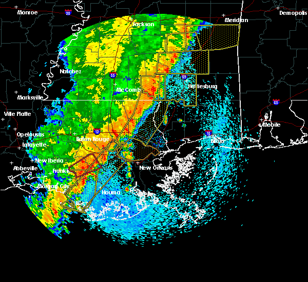 Radar Image for Severe Thunderstorms near South Vacherie, LA at 4/14/2018 9:57 AM CDT