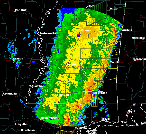 Radar Image for Severe Thunderstorms near Heidelberg, MS at 4/14/2018 10:50 AM CDT