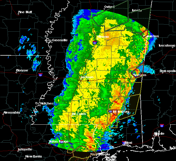 Radar Image for Severe Thunderstorms near Ellisville, MS at 4/14/2018 11:17 AM CDT
