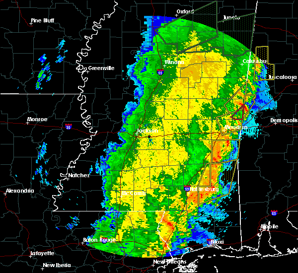 Radar Image for Severe Thunderstorms near Lauderdale, MS at 4/14/2018 11:42 AM CDT