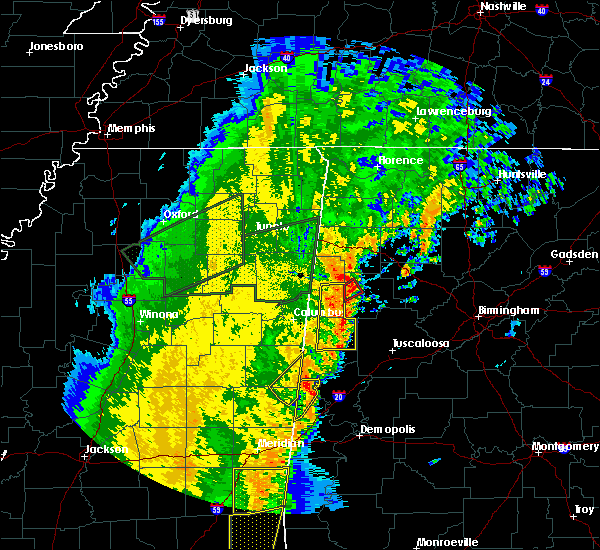 Radar Image for Severe Thunderstorms near Twin, AL at 4/14/2018 11:56 AM CDT