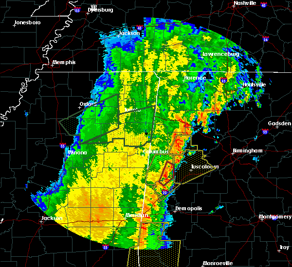 Radar Image for Severe Thunderstorms near Berry, AL at 4/14/2018 12:27 PM CDT