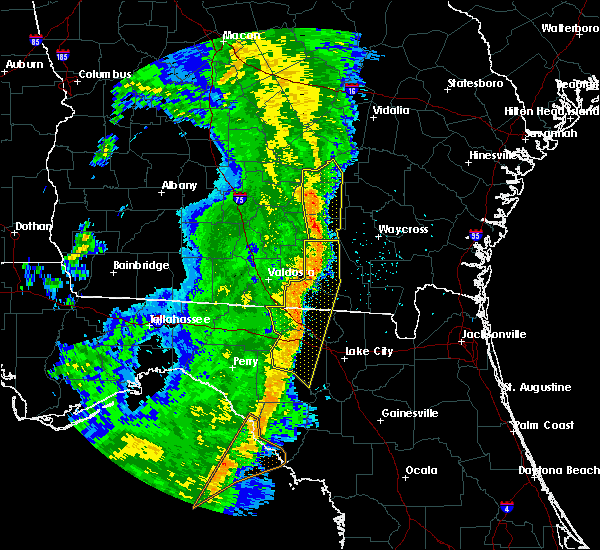 Radar Image for Severe Thunderstorms near Cross City, FL at 4/15/2018 11:01 AM EDT