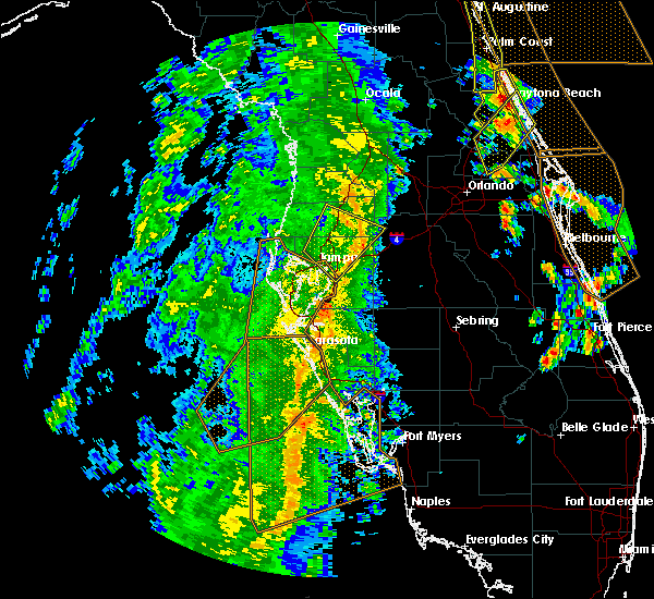 Radar Image for Severe Thunderstorms near Tampa, FL at 4/15/2018 4:06 PM EDT