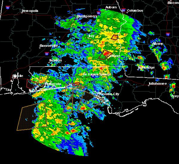 Radar Image for Severe Thunderstorms near Niceville, FL at 4/22/2018 4:12 PM CDT