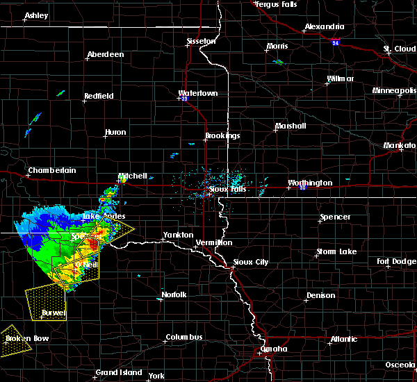 Radar Image for Severe Thunderstorms near Monowi, NE at 4/30/2018 8:03 PM CDT