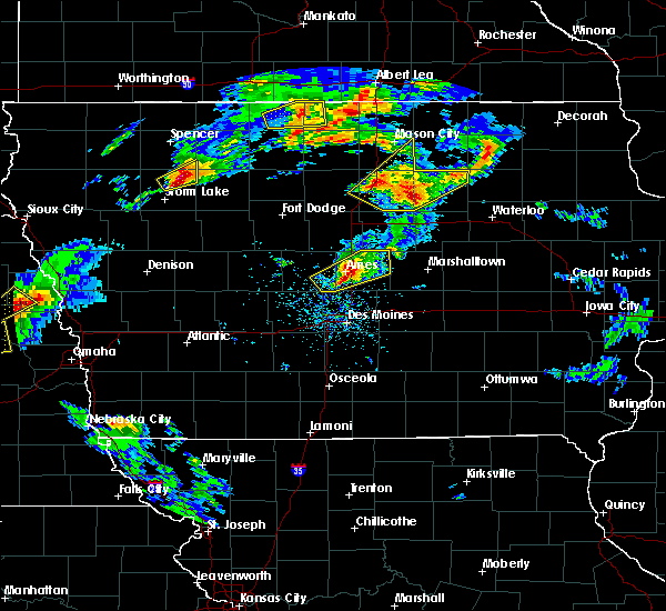 Radar Image for Severe Thunderstorms near Ayrshire, IA at 5/1/2018 5:32 PM CDT