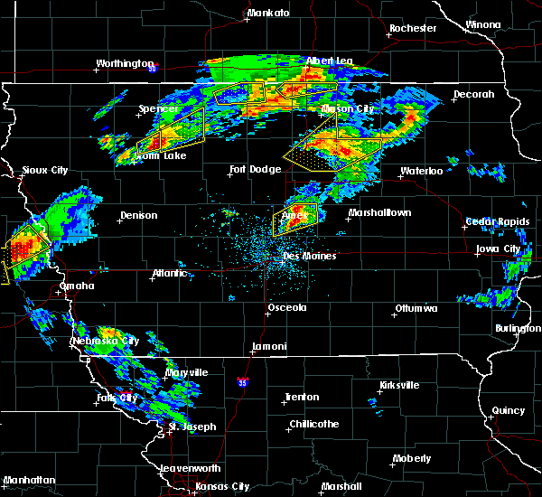 Radar Image for Severe Thunderstorms near Albert City, IA at 5/1/2018 5:44 PM CDT