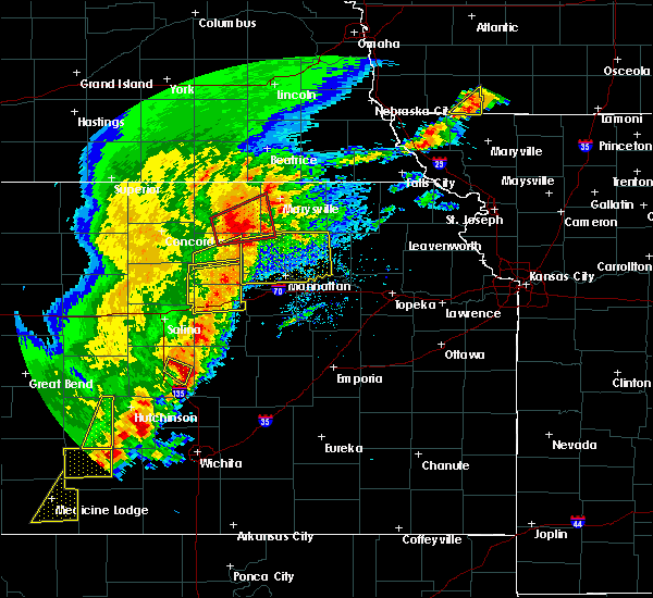 Radar Image for Severe Thunderstorms near Manchester, KS at 5/2/2018 5:24 PM CDT