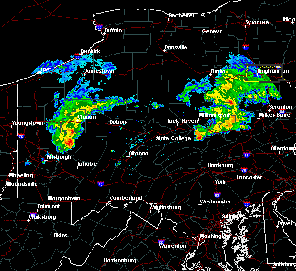 Radar Image for Severe Thunderstorms near Danville, PA at 5/3/2018 4:30 PM EDT