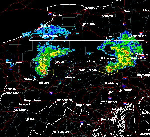 Radar Image for Severe Thunderstorms near Atwood, PA at 5/3/2018 4:51 PM EDT